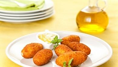 Рецепт Крокеты по -гречески