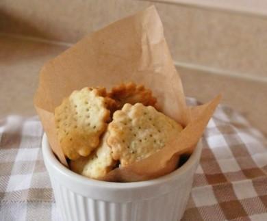 Рецепт Сырные крекеры с розмарином