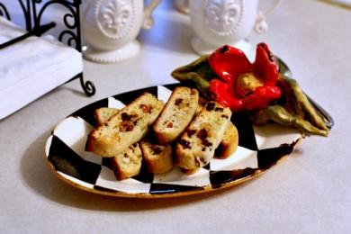 Рецепт Бискотти с вишней и миндалем