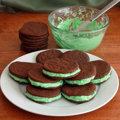 Рецепт Печенье-сэндвичи с зефиром