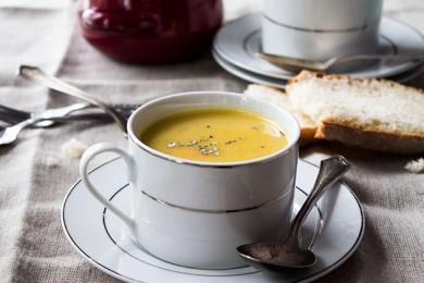 Картофельный суп с морковью и пастернаком