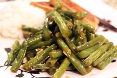 Рецепт Зеленая фасоль по-азиатски