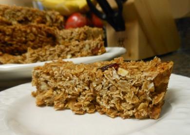 Рецепт Гранола с клюквой и орехами