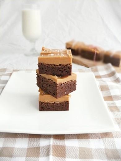 Рецепт Брауни с арахисовым кремом