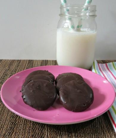 Рецепт Шоколадно-мятное печенье