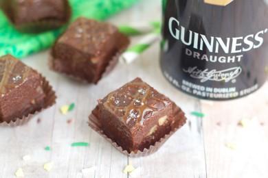 Рецепт Шоколадная помадка с пивом и орехами