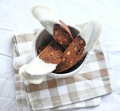 Рецепт Шоколадные бискотти с макадамией