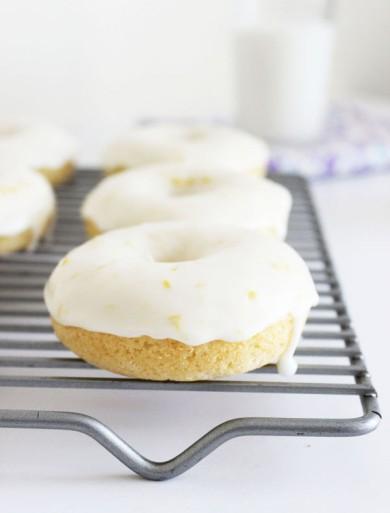 Рецепт Лимонные пончики с рикоттой