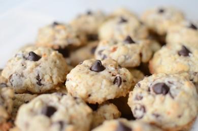 Рецепт Миндальное печенье с шоколадом