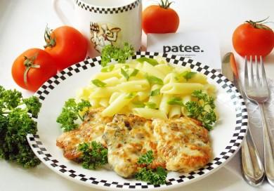 Рецепт Рубленые куриные котлеты с грибами