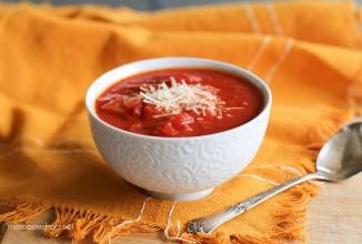 Томатный суп - приготовление