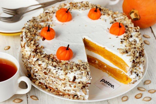 Рецепт торт с тыквой