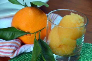Рецепт Апельсиновый сорбе