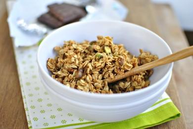 Рецепт Гранола с кокосом и фисташками