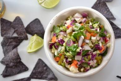 Рецепт Капустный салат с халапеньо