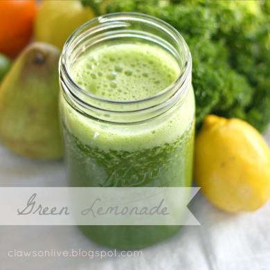 Рецепт Зеленый лимонад