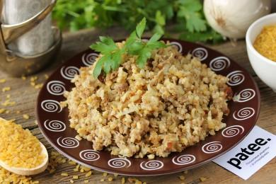 Рецепт Булгур с бараниной по-ливански — рецепт для мультиварки