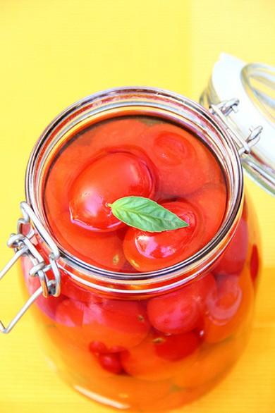 Рецепт Квашеные помидоры черри