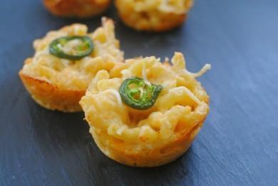 Маффины из пасты с сыром