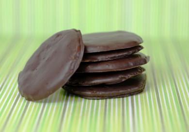 Шоколадно-мятное печенье палео