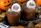 Шоколадный мусс на Хэллоуин