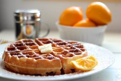 Рецепт Лимонные вафли — рецепт для вафельницы