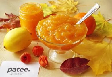 Рецепт Апельсиновый джем с лимоном за 30 минут