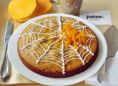 Рецепт Пирог из тыквы с корицей на Хэллоуин