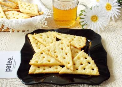 Рецепт Крекер с сыром