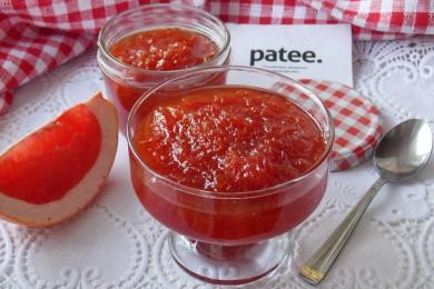 Рецепт Джем из красного грейпфрута