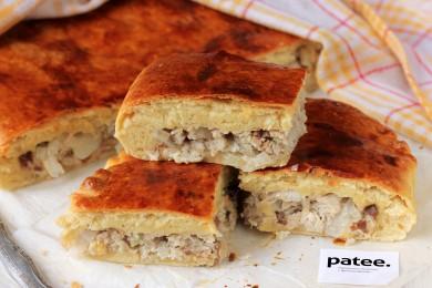 Рецепт Пирог со скумбрией