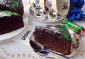 Торт из шоколадных конфет
