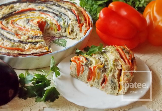 мясная овощная запеканка рецепт с фото