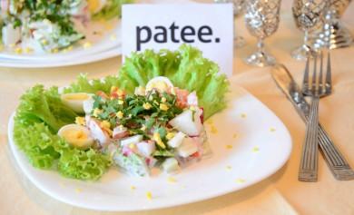 Рецепт Овощной салат с яйцом