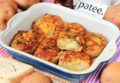 Картофельные лодочки с горгонзолой