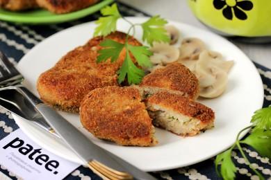 Рецепт Котлеты из скумбрии с укропным маслом