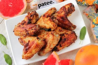 Рецепт Куриные крылышки в грейпфрутовом маринаде