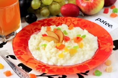 Рецепт Рисовая молочная каша в мультиварке — рецепт для мультиварки