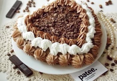 Рецепт Ореховый торт с кофейным кремом