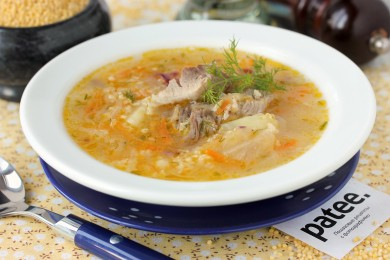 Рецепт Капустняк со свининой и пшеном