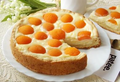 Рецепт Чизкейк с абрикосами