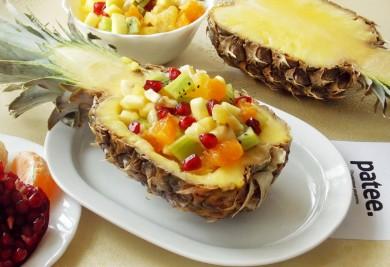 Рецепт Фруктовый салат в ананасе Витамин