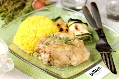 Рецепт Курица в сливочно-чесночном соусе в мультиварке — рецепт для мультиварки