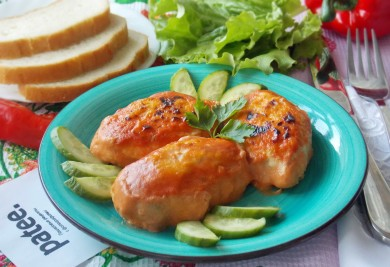 Рецепт Ленивые голубцы с пекинской капустой