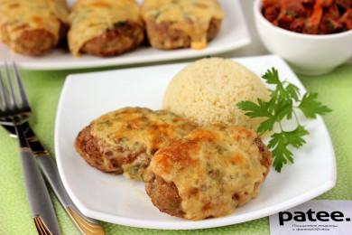 Рецепт Котлеты под сырной корочкой