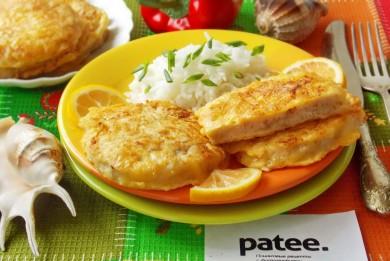 Рецепт Филе хека в сырном кляре