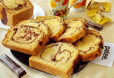 Рецепт Кекс  с жидким шоколадом