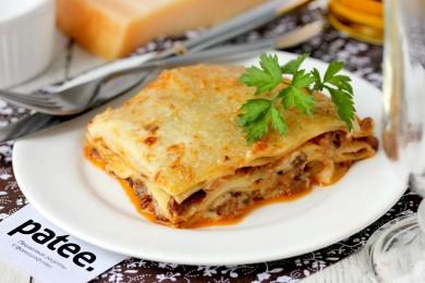 Рецепт Лазанья с мясным фаршем