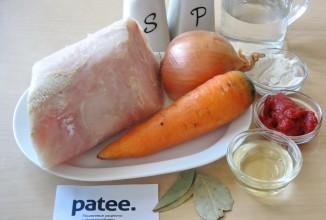 Филе хека в томатном соусе - Шаг 1