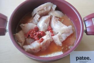 Филе хека в томатном соусе - Шаг 9